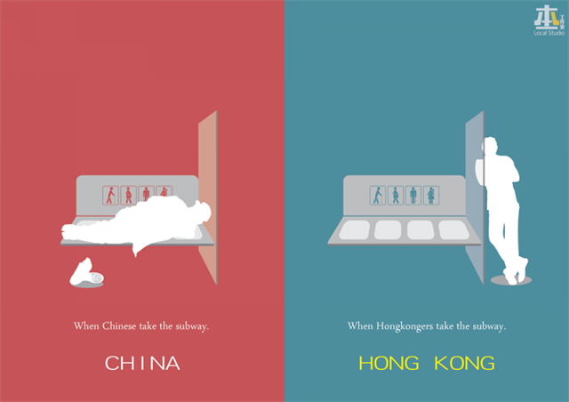 differenze tra Hong Kong e Cina