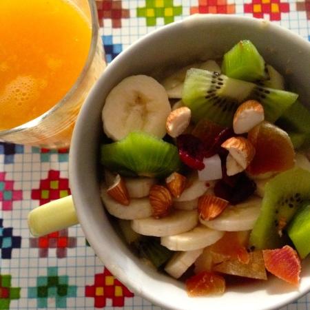 porridge di frutta