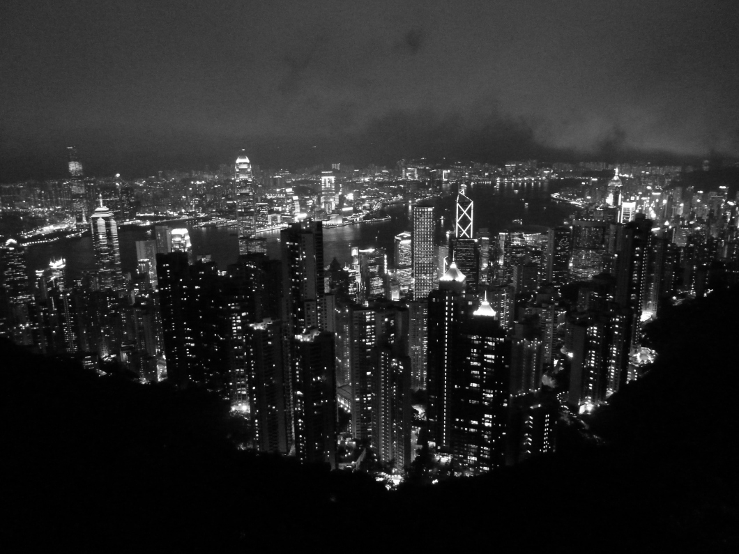 Victoria's Peak by night