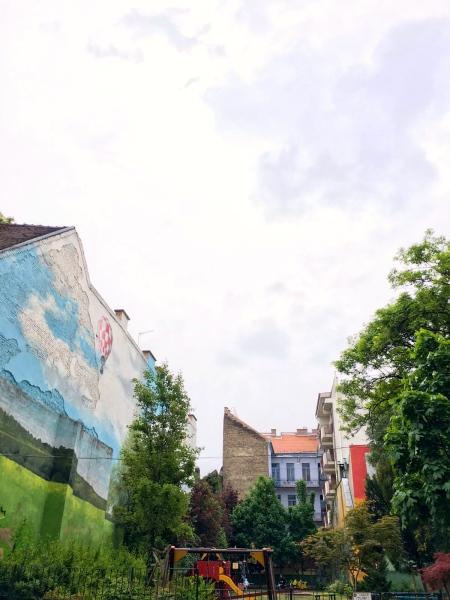Budapest street art
