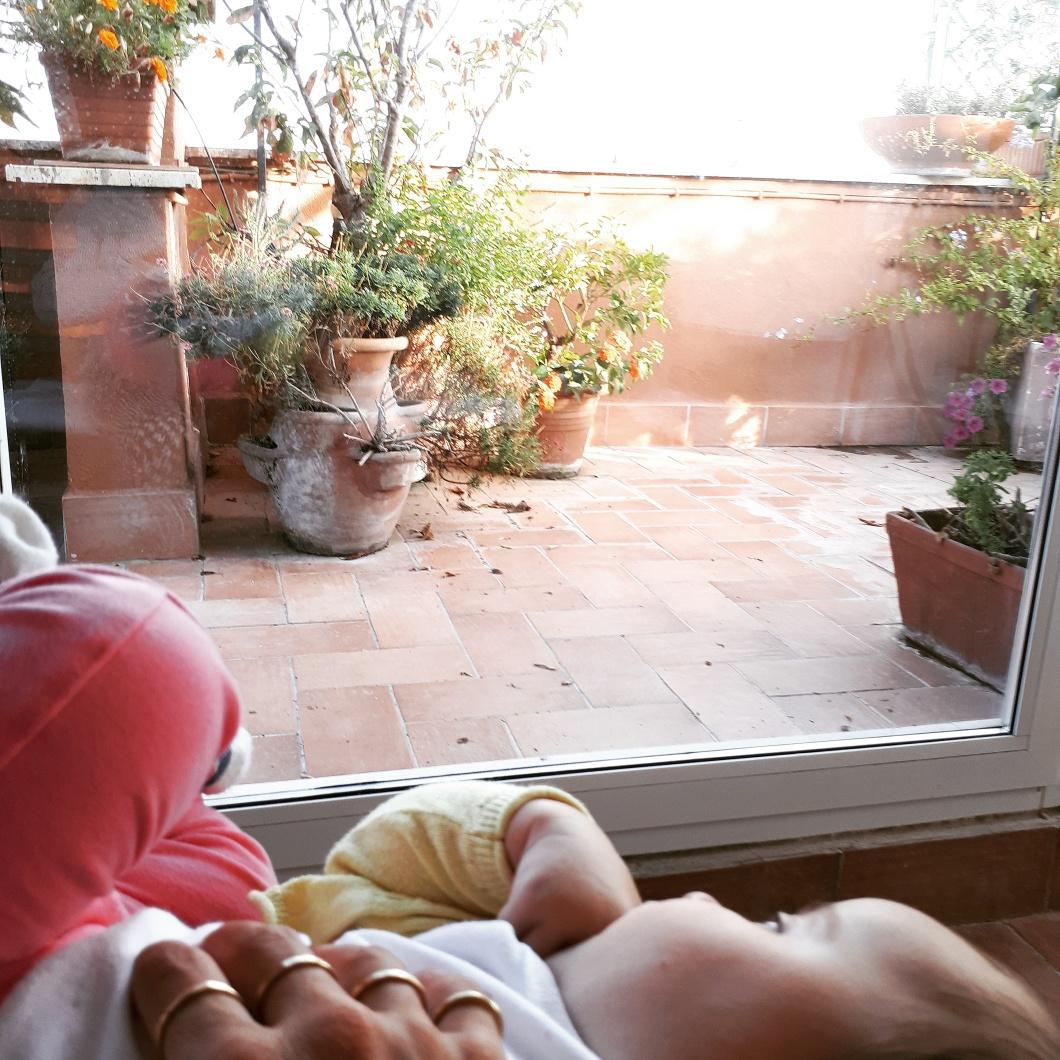 diario di settembre - relax in terrazza