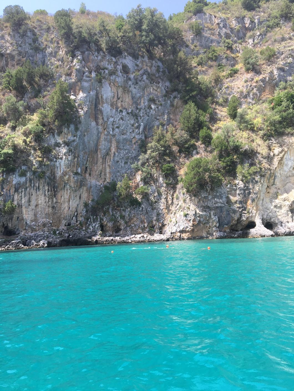 Cilento grotta azzurra mare