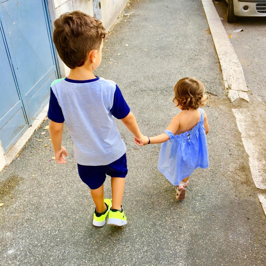 fotografare i propri figli